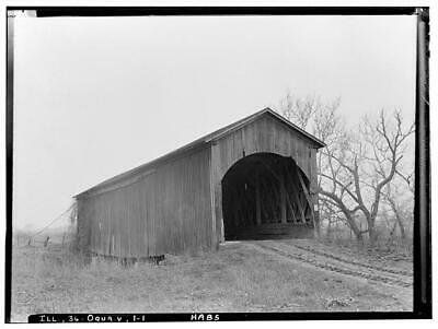 $ CDN15.55 • Buy Jack's Mill Covered Bridge,Henderson Creek,Oquawka,Henderson County,IL,HAB 1623