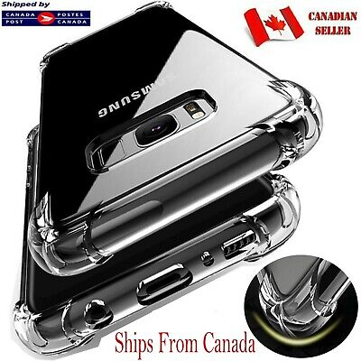 $ CDN5.99 • Buy CLEAR Case For Samsung Galaxy S10e S10 S9 S8 S20 Plus Silicone Shockproof Cover
