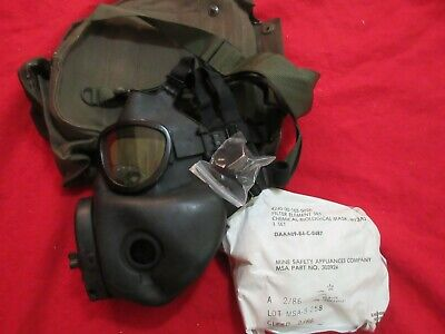 $65 • Buy Us M17 Mask Used Checked With Sealed Filter & Carrier Medium