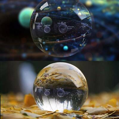 Clear Crystal Ball  Magic Healing Meditate Sphere Photography 60mm + Stand UK • 7.99£