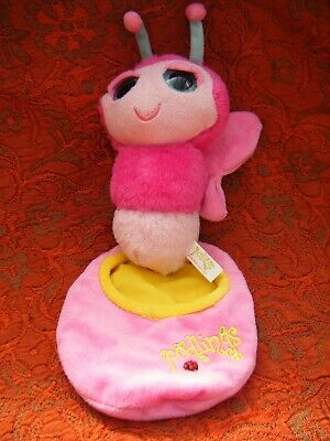 Keel Toys Podlings Pink Butterfly  Soft Toy 7  Approx (B18) • 6.99£