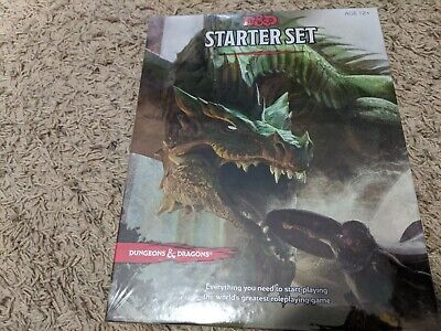 AU29.44 • Buy Dungeons And Dragons D&D RPG 5th Ed. Starter Set! New/Sealed! Fun!
