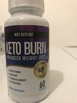 $7 • Buy Best Keto Diet , Keto Burn Advanced Weight Loss Supplements - 60 Capsules
