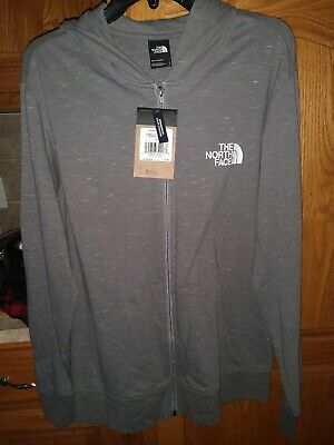$39.95 • Buy NWT The North Face Boxed Out Injected Full Zip Lightweight Hoodie Grey Heather M