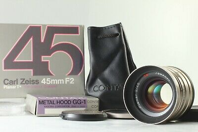 $429.90 • Buy 【TOP MINT In Box】Contax Carl Zeiss Planar T* 45mm F/2 Lens For G1 G2 From JAPAN