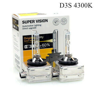AU59.99 • Buy 35W D3S D3R 4300k HID Xenon Headlight Bulb Globes Replace For Philips For Osram