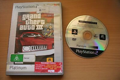 AU7.95 • Buy Grand Theft Auto III - Platinum (PS2) [PAL] - WITH WARRANTY