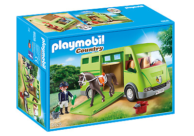 Playmobil 6928 Country Horse Box With Opening Side Door For 3-4 Years, 5-7 Years • 34.99£