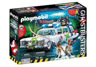 Playmobil 9220 Ghostbusters (TM) Ecto 1 With Lights And Sound  3+ • 44.99£