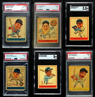 $10030 • Buy 1938 Goudey Heads Up Complete Set 3.5 - VG+
