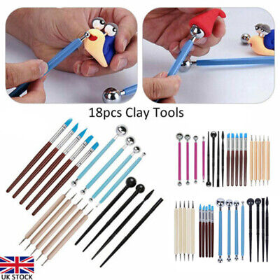 £6.64 • Buy 11x Polymer Clay Tools Modelling Sculpting Tool Pottery Models Art Projects Kit