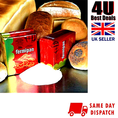 New Fermipan Red Dry Instant Dried Bakers Yeast For Hand Baking Bread Machines • 3.99£