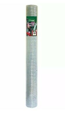 £23.95 • Buy Kingfisher 5m X 0.6m Chicken Wire 13mm Diamond Mesh Cage Aviary Fencing