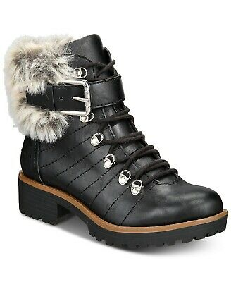 $13.10 • Buy American Rag Womens Jojo Closed Toe Ankle Cold Weather Boots, Black, Size 7.5 Ij