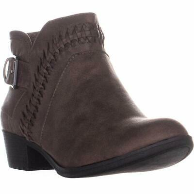 $14 • Buy American Rag Womens Audra Round Toe Ankle Riding Boots, Taupe, Size 7.5 O7kK