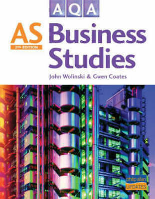 AQA AS Business Studies (Second Edition) By Gwen Coates (Paperback) Great Value • 2.94£