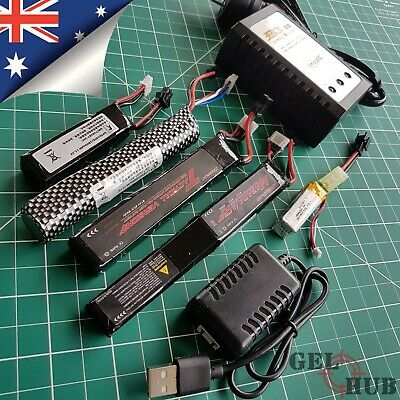 AU36.95 • Buy Upgrade 11.1v/7.4v Lipo Battery Charger Gel Blaster J8 J9 J10 ACR M4A1 HK416 SKD