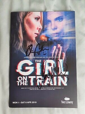 £15 • Buy Girl On A Train Theatre Programme Signed By Samantha Womack And Oliver Farnworth
