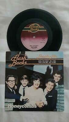 HONEYCOMBS  : Have I The Right? / That's The Way : Uk Pye 7  Single 1979  • 3.99£