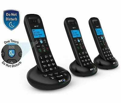 BT 3570 Trio Cordless Telephone With Digital Answer Machine Speaker & Caller ID • 33.95£