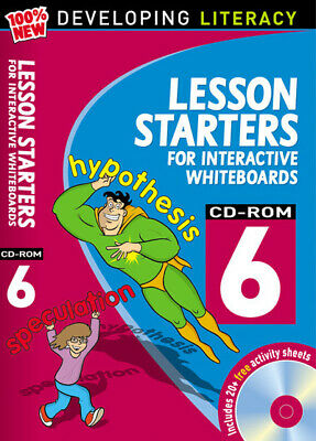 £7.98 • Buy 100% New Developing Literacy: Lesson Starters For Interactive Whiteboards. Year
