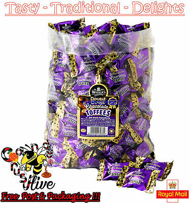 £4.77 • Buy Walkers Nonsuch Double Dipped Chocolate Toffees Wrapped Sweets Pick N Mix
