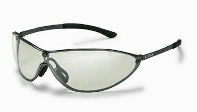 Uvex Safety Glasses 'MT Racer' Silver-Mirrored Lens - Metal Frames UV Protection • 6.99£