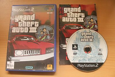 AU11.99 • Buy Grand Theft Auto III (PS2) [PAL] - WITH WARRANTY