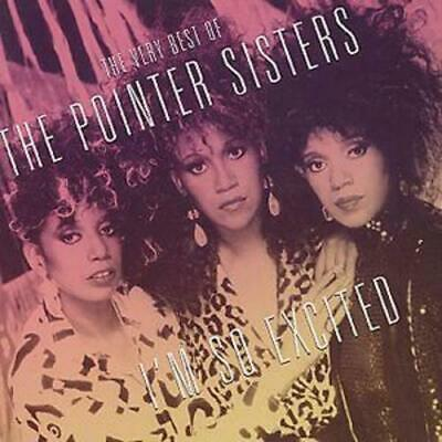 £2.52 • Buy The Pointer Sisters : I'm So Excited - The Very Best Of CD (2003) Amazing Value