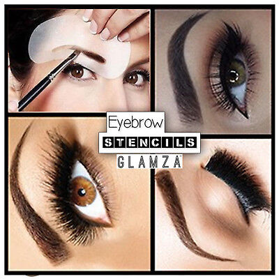 Professional Eyebrow Shaping Stencil & Pencil Eye Brow Template Liner Shape Kit  • 3.75£
