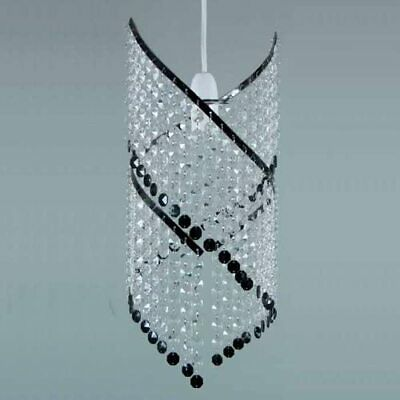 £15.89 • Buy Modern Chandelier Acrylic Crystal Light Shades Droplet Ceiling Pendant Lampshade
