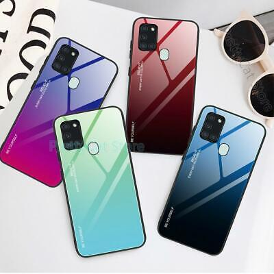 $ CDN6.19 • Buy For Oneplus 8 Pro 7T Pro 7 6T Shockproof Fashion Gradient Tempered Glass Case