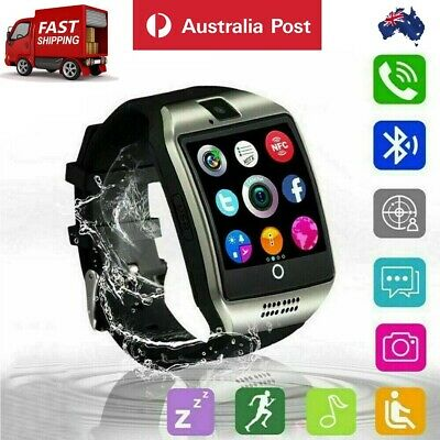 AU31.79 • Buy New Q18 Bluetooth Smart Watch Phone Wrist Touch Screen Watch SIM GPS For Android