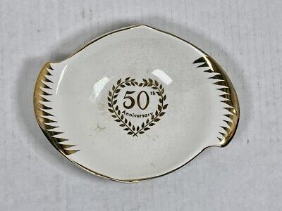 $ CDN10.09 • Buy ROYAL WINTON 50th Anniversary Gold Trimmed Bowl - Grimwades England