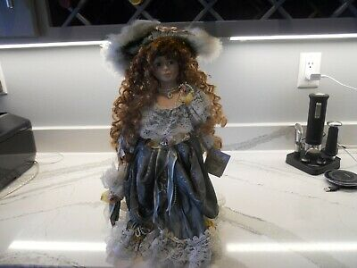 $ CDN25.70 • Buy Victorian Porcelain Doll Limited Edition Collectible Dolls W/Stand Jane RARE