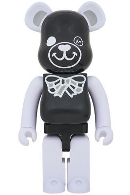 $898 • Buy Medicom Toy Be@rbrick Freemasonry Fragmentdesign 1000% Black Bearbrick Fragment