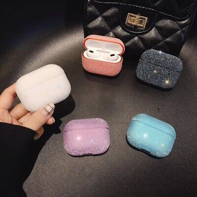 AU10.99 • Buy For Apple AirPods Case Protect Glitter PC Cover Skin AirPod Earphone Cases AU