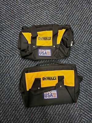 $19 • Buy DeWalt N454406 13x9x9 Six Pocket Contractor's Bag For Power And Hand Tools