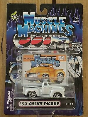 AU12.70 • Buy Muscle Machines 1:64 '53 CHEVY PICKUP