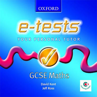 DOS : Oxford E-Tests: GCSE Mathematics - Stude CD Expertly Refurbished Product • 2£