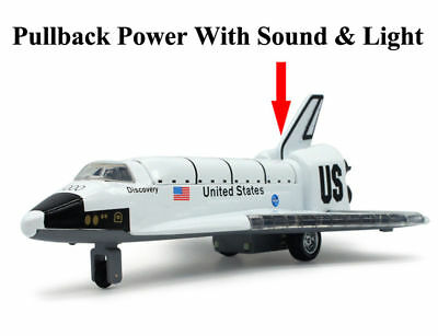 Alloy Space Shuttle Airplane  Model Spaceship Gift Columbia Shuttle Model Toys  • 17.99£