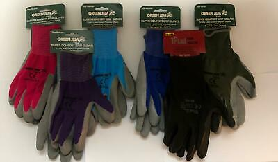 Super Comfort Gardening Gloves - Breathable - Super Grip - Mens And Ladies • 2.95£