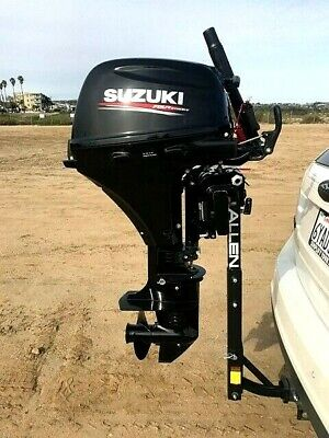 AU337.82 • Buy New Pro Heavy Duty Outboard Hitch, Mount, Stand, Kicker For 2.5-35HP (No Motor)