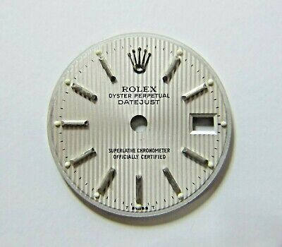 $ CDN131.82 • Buy ROLEX OYSTER PERPETUAL DATEJUST SILVER TUXEDO DIAL 20mm