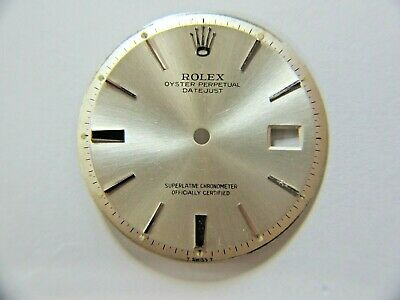 $ CDN203.65 • Buy ROLEX VINTAGE OYSTER PERPETUAL DATEJUST SILVER DIAL 27mm REF.1601