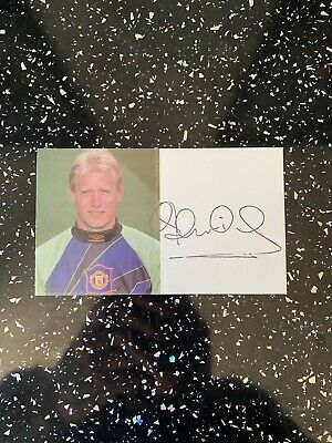 Peter Schmeichel Signed Card • 30£