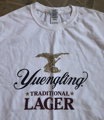 $10.98 • Buy Vintage YUENGLING BEER TRADITIONAL LAGER MEN T-SHIRT*Large*
