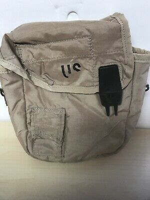$ CDN6.05 • Buy U.S. MILITARY ISSUED 2 QT CANTEEN Pouch Desert Camo, Used, NO CLIPS OR STRAP(BT)