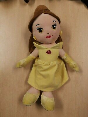 Disney Belle Beauty & The Beast Soft Plush Doll 18  - Proceeds Go To Charity • 7.99£
