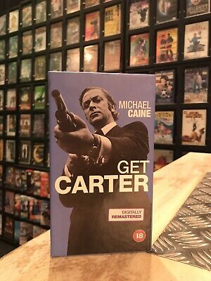 Get Carter VHS Video Tape Michael Caine • 6£